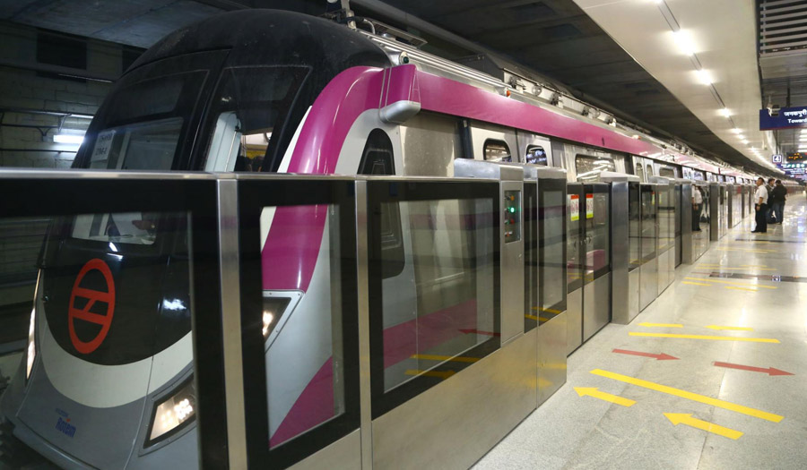 Delhi Metro Rail Corporation Phase – III Lot 4 (Magenta Line)